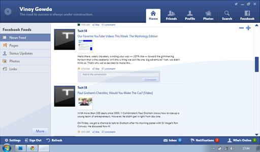 facebook desktop version login